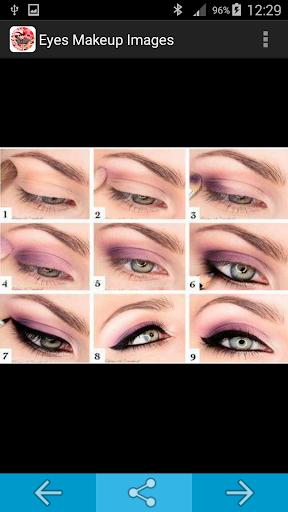Eyes Makeup Step by Step Image