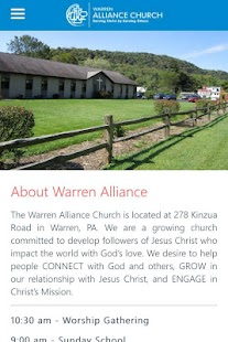 Warren Alliance Church- screenshot thumbnail