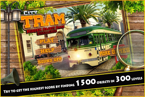 Download Hidden Object Games Free City Tram Challenge # 318 on PC