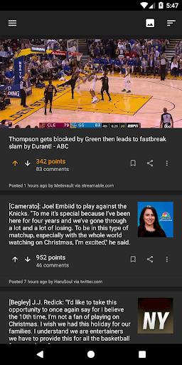 swish - nba scores for reddit screenshot 3