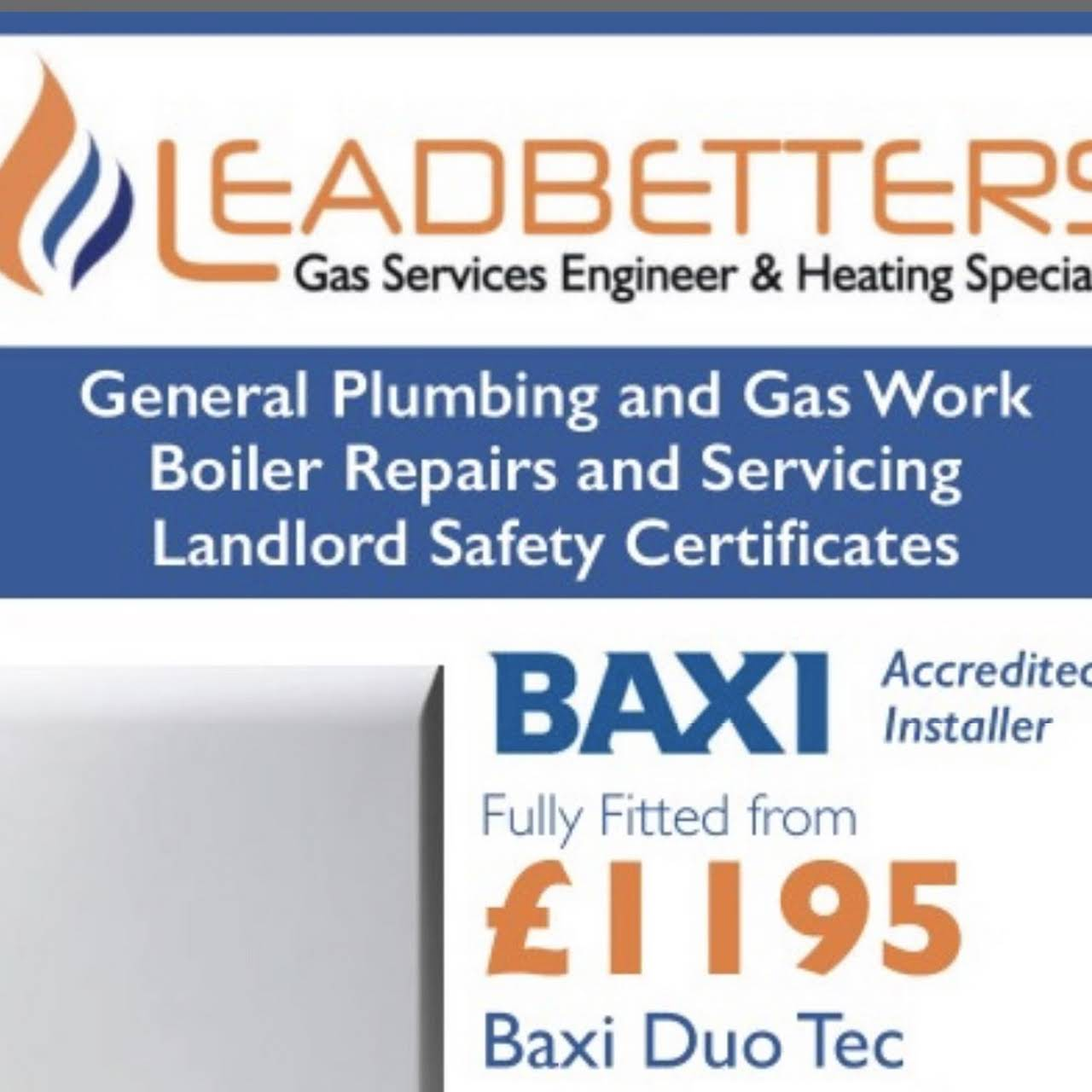 Leadbetters Gas Services Engineer