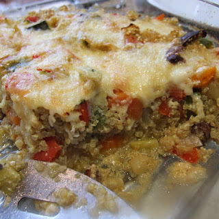 Quinoa Vegetable Bake Cheese Recipes