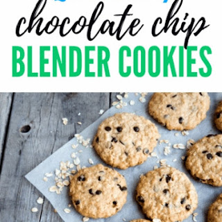 Quick & Easy Blender Chocolate Chip Cookies.