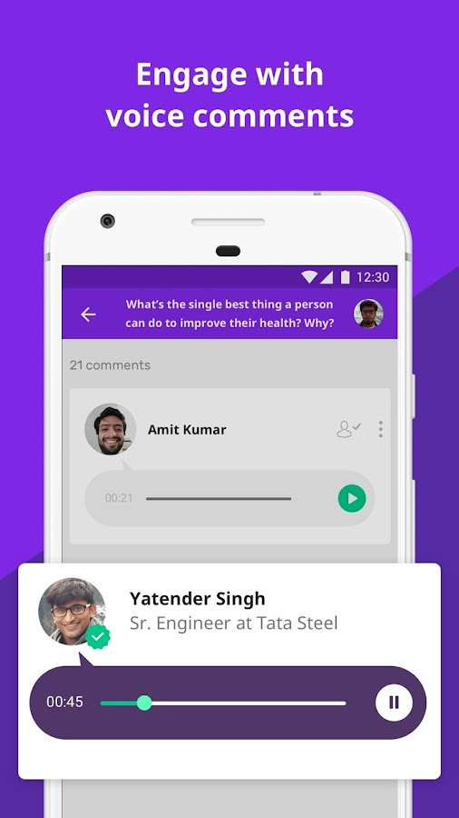Vokal - Ask Questions, Share knowledge with India- screenshot