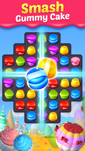 Cake Smash Mania - Swap and Match 3 Puzzle Game 1.1.5018 screenshots 2