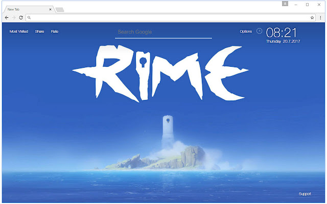 Rime Wallpaper HD New Tab Rime Themes
