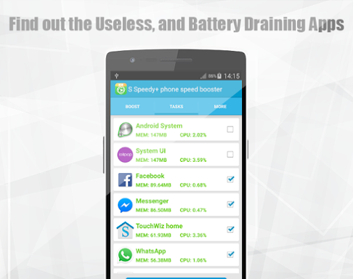 The Clean Phone Speed Booster - screenshot