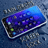 Rain Drops Screen lock