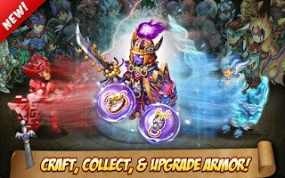 Screenshot of Knights & Dragons - Action RPG