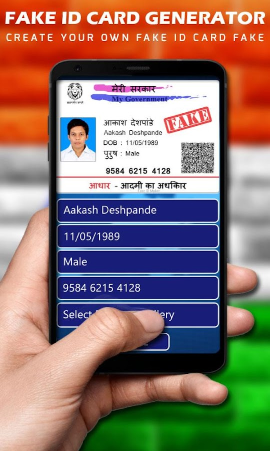 fake id card maker fake id generator android apps on google play