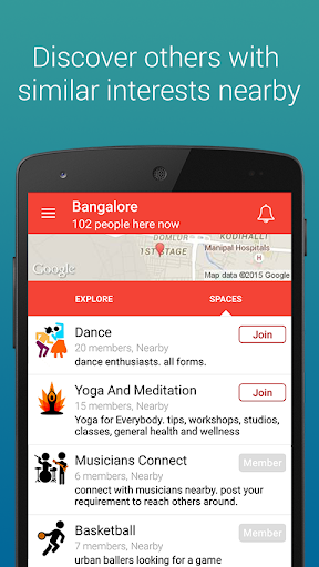 HereNow - Nearby Messaging