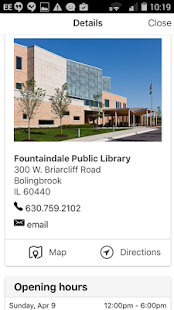 Fountaindale Public Library- screenshot thumbnail