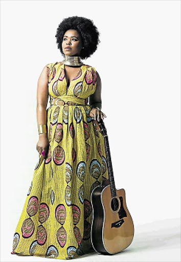 OFF TO THE CARNIVAL: Zahara will be one of the artists performing at the Xhosa Carnival which will take place at Nqadu Great place Picture: SOWETAN