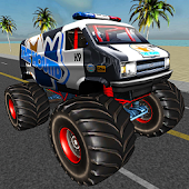 Monster Truck Stunt Driver