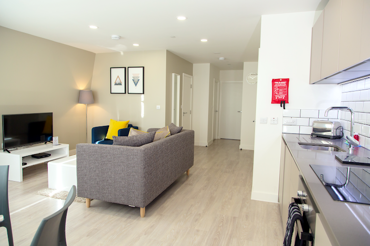 Bright living space at Platform Bedford