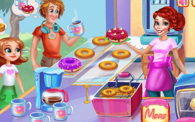 Donuts Bakery Game