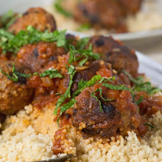 Coriander, Fennel & Mint Lamb Meatballs Recipe