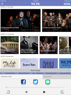 WCPE The Classical Station App- screenshot thumbnail
