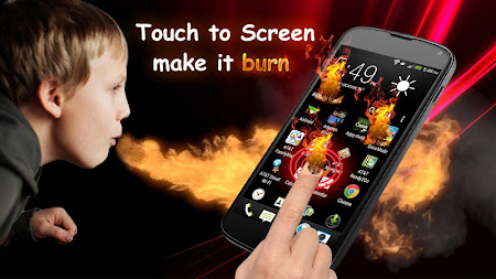 Fire Screen Prank 1.4 screenshot 642391