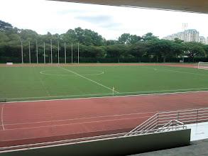 Photo: 11 January -  TP Soccer field - Mondays means soccer.