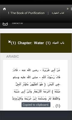 Bulugh al-Maram ( Hadith ) - screenshot