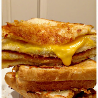 Grilled Cheese Sandwich with a secret ingredient!.