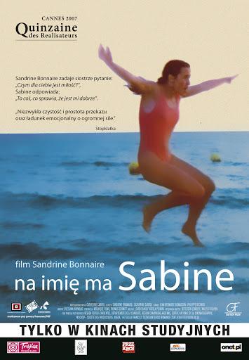 Polski plakat filmu 'Na Imię Ma Sabine'