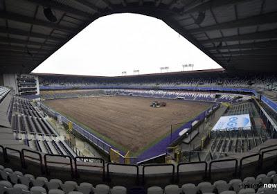 Anderlecht ne jouera plus à domicile cette saison