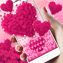 Pink love Heart keyboard icon