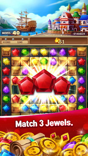 Jewels Fantasy Crush : Match 3 Puzzle 1.0.2 screenshots 2