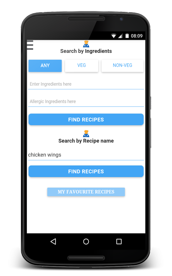 CookBot Recipes- screenshot