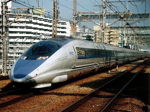 JR西日本 500系新幹線「のぞみ」 博多にて