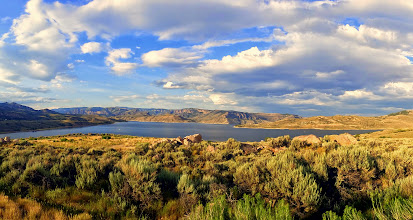 Photo: Blue Mesa off of HWY 50
