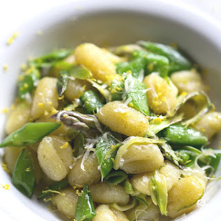 Browned Gnocchi with Lemony Spring Vegetables