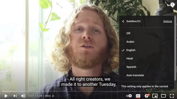 YouTube Announces Improvements on Captions