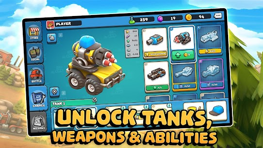 Pico Tanks: Multiplayer Mayhem MOD (Unlimited Purchases) 5