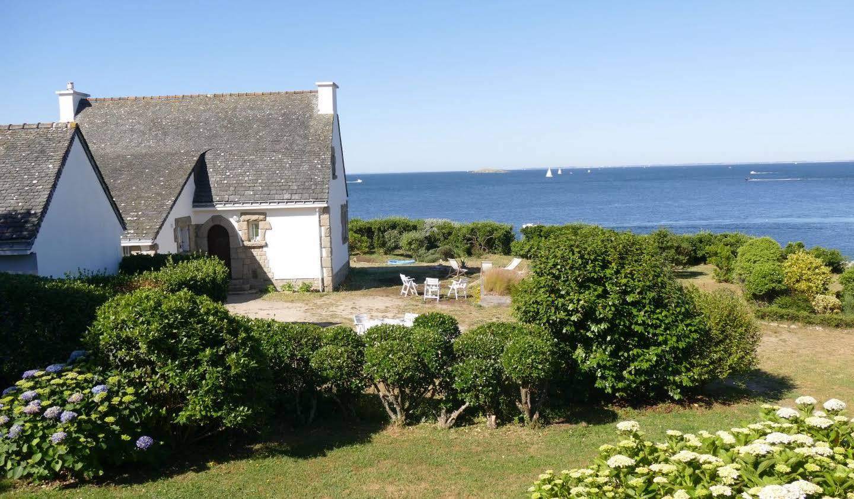 Maison en bord de mer avec jardin Port navalo