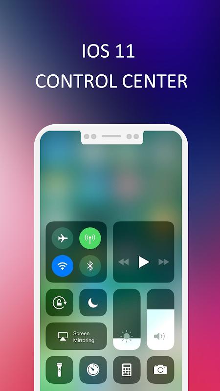 Control center iPhone X - iOS 11 control center APK 1 1 Download