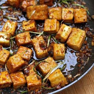 Black Pepper Tofu.