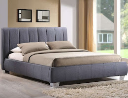 Elegant and Sophisticated Fabric Bedstead
