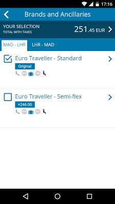 Travelport Mobile Agent - screenshot