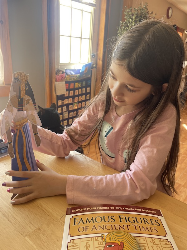 Figures in Motion Hands-On History Puppets at Homeschool Review Crew