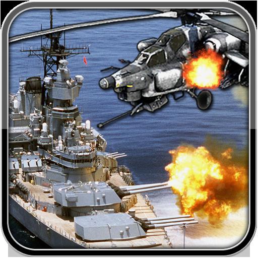 Navy Helicopter Gunner Gunship Icon