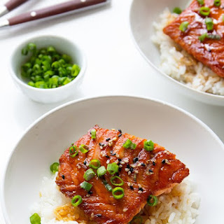 Easy Salmon Teriyaki Bowls
