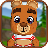 Cartoon Animal Run Game Free
