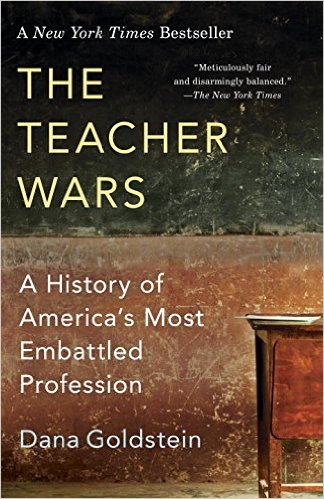 "In The Teacher Wars, a rich, lively, and unprecedented history of public school teaching, Dana Goldstein reveals that teachers have been embattled for nearly two centuries. She uncovers the surprising roots of hot button issues, from teacher tenure to charter schools, and finds that recent popular ideas to improve schools—instituting merit pay, evaluating teachers by student test scores, ranking and firing veteran teachers, and recruiting ""elite"" graduates to teach—are all approaches that have been tried in the past without producing widespread change. The Teacher Wars upends the conversation about American education by bringing the lessons of history to bear on the dilemmas we confront today. By asking ""How did we get here?"" Dana Goldstein brilliantly illuminates the path forward."