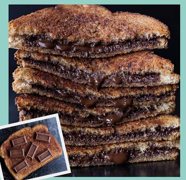 Grilled Cinnamon Chocolate Sandwich!
