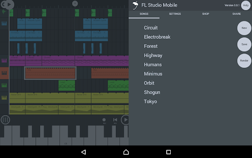 FL Studio Mobile 3.1.17b (Full) MOD APK (Unlocked) + DATA