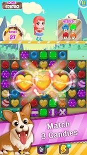 Candy Jelly POP : Match 3 Puzzle - náhled