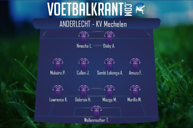 Anderlecht (Anderlecht - KV Mechelen)
